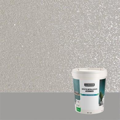 Pittura decorativa LUXENS EFFETTO METALLIZZATO ATERMICO 1 l quarzo fume effetto metallo