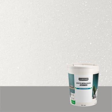 Pittura decorativa LUXENS EFFETTO METALLIZZATO ATERMICO 1 l bianco opale effetto metallo