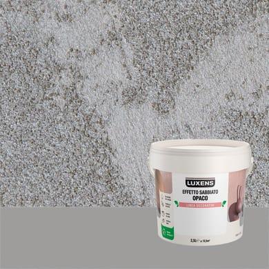Pittura decorativa LUXENS EFFETTO SABBIATO OPACO 2.5 l notte a furore effetto sabbiato
