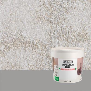 Pittura decorativa LUXENS EFFETTO SABBIATO OPACO 2.5 l cappuccino a cervo effetto sabbiato