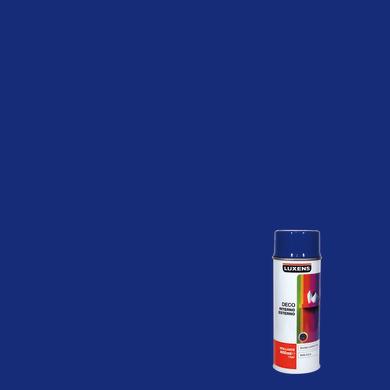 Smalto spray LUXENS Deco blu genziana lucido 0.0075 L