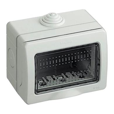 Scatola da parete componibile BTICINO Idrobox grigio