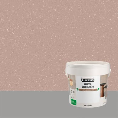 Pittura decorativa LUXENS EFFETTO GLITTERATO 2.5 l leone bruno glitterato