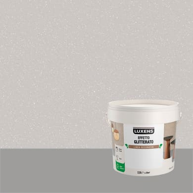 Pittura decorativa LUXENS EFFETTO GLITTERATO 2.5 l virgo sabbia glitterato