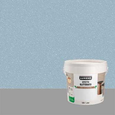 Pittura decorativa LUXENS EFFETTO GLITTERATO 2.5 l pegaso fume glitterato