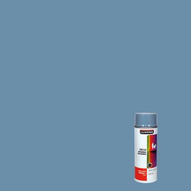 Smalto spray LUXENS Deco grigio argento lucido 0.0075 L
