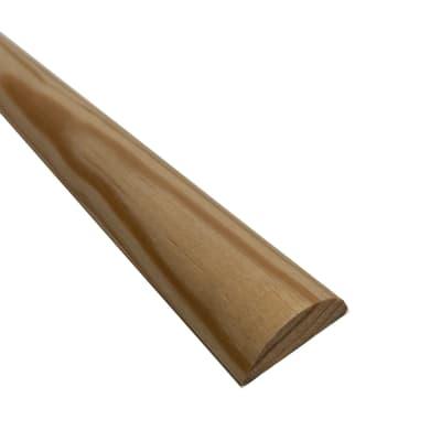 1/2 tondo grezzo pino 2.1 m