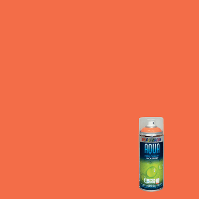 Spray DUPLI COLOR Aqua arancio pastello lucido 0.0075 L