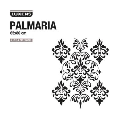 Stencil tema varie forme decorative LUXENS STENCIL PALMARIA 65 x 1 cm