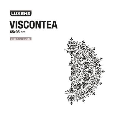 Stencil tema varie forme decorative LUXENS STENCIL VISCONTEA 65 x 1 cm