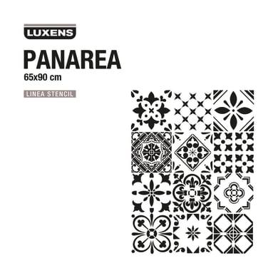 Stencil tema varie forme decorative LUXENS STENCIL PANAREA 65 x 1 cm
