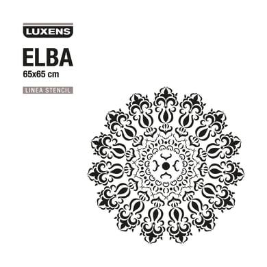 Stencil tema varie forme decorative LUXENS STENCIL ELBA 65 x 1 cm
