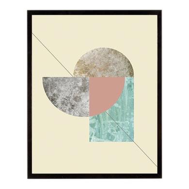 Stampa incorniciata GEO FOUNTAIN 40.7x50.7 cm