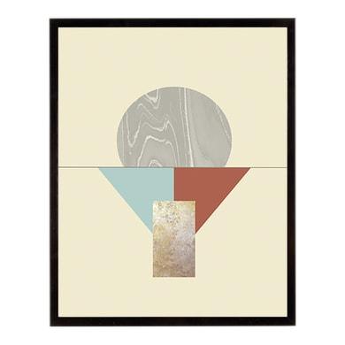 Stampa incorniciata GEO COCKTAIL 40.7x50.7 cm