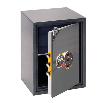 Cassaforte con codice elettronico MOTTURA No Problem 11.KC545 da fissare a parete L 48.5 x P 38.5 x H 68.5 cm