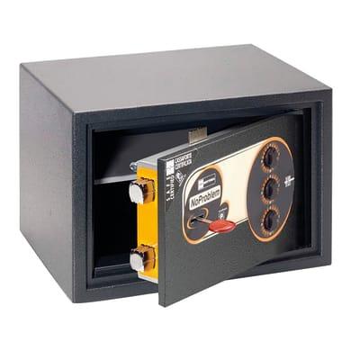 Cassaforte con codice elettronico MOTTURA Mottura No Problem 11.KC130 da fissare a parete L 35.5 x P 23 x H 23.5 cm