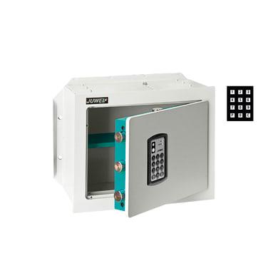 Cassaforte con codice elettronico JUWEL 5550 da murare L 41.5 x P 1 x H 33.5 cm