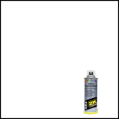 Smalto spray per auto Supertrasparente 2K trasparente lucido 0.16 L