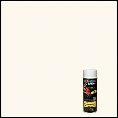Smalto spray base solvente DUPLI COLOR Sprayplast 0.0075 L bianco lucido