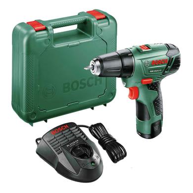 Trapano avvitatore a batteria BOSCH PSR 10,8 LI-2, 10,8 V1.5 Ah, 1 batteria