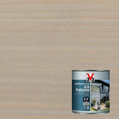 Impregnante a base acqua V33 Alta Protezione grigio cenere 2.5 L