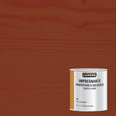 Impregnante a base solvente LUXENS castagno 1 L