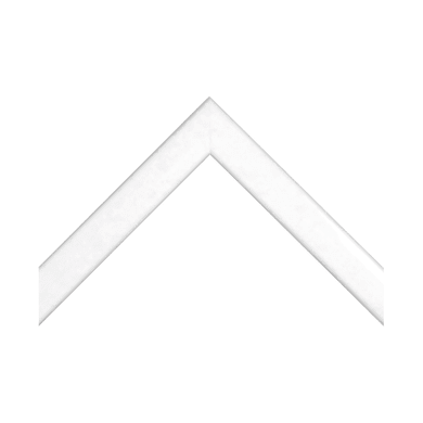 Asta per cornice Bomber bianco 2.3 cm