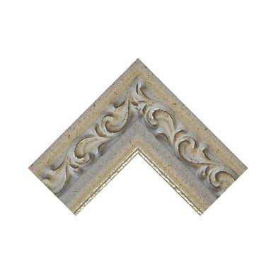 Asta per cornice Giglio argento 4.5 cm