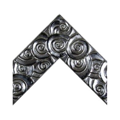 Asta per cornice Rosy argento 6.9 cm