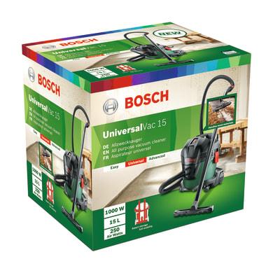 Aspiratore industriale BOSCH Universal Vac 15 aspirazione 23 kPa 15 L 1000 W