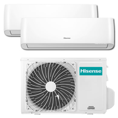 Pacchetto dualsplit dualsplit HISENSE Energy Pro 18000 BTU