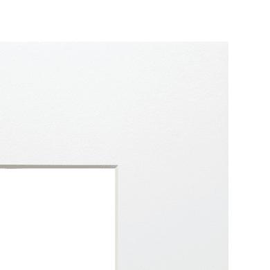 Passe-partout 30 x 40 cm bianco