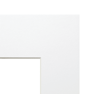 Passe-partout 30 x 45 cm bianco