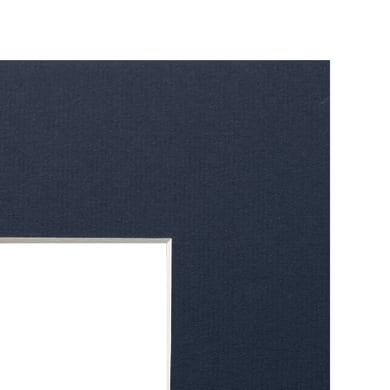 Passe-partout 30 x 40 cm blu