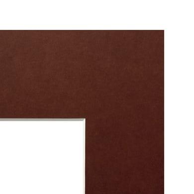 Passe-partout Marrone 20 x 30 cm marrone