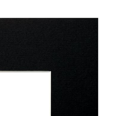 Passe-partout Nero 30 x 40 cm nero