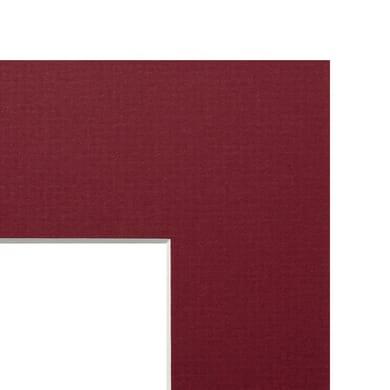 Passe-partout 30 x 40 cm rosso
