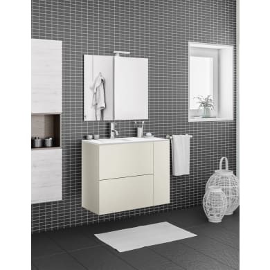 Mobile bagno Neo line grigio dore' L 120 cm