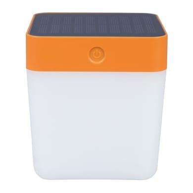 Lampadina solare Table cube , in plastica, luce bianco, 100LM IP44 LUTEC