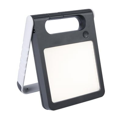 Lampada solare Padlight  , in plastica, luce bianco, 200LM IP44 LUTEC