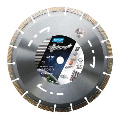 Disco diamantato segmentata NORTON 4x4 Explorer Ø 350 mm