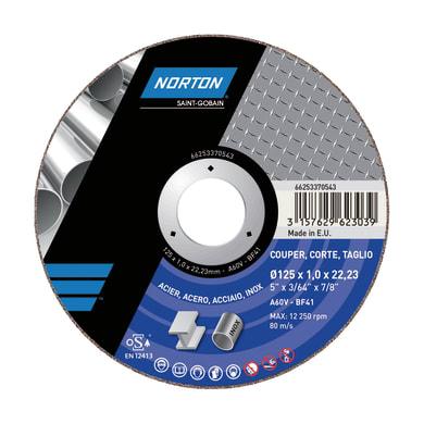 Disco di taglio NORTON per multiuso Ø 125 mm