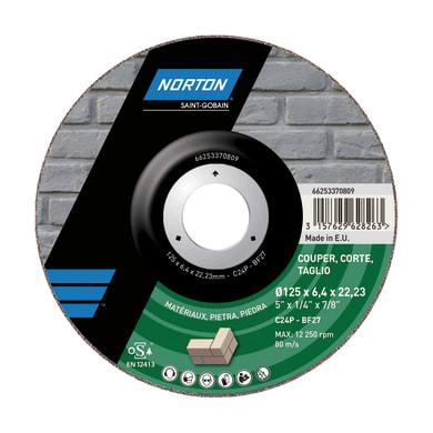 Disco di taglio NORTON per pietra Ø 230 mm