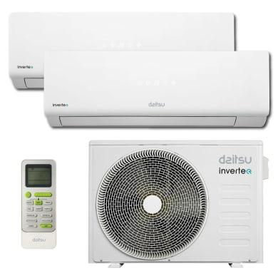 Climatizzatore dualsplit DAITSU DOSM-DSM9-DSM12 18000 BTU classe A++