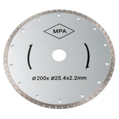 Disco diamantato FOX F36-403 Ø 200 mm 14 denti