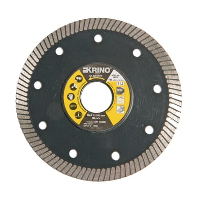 Disco diamantato zigrinato KRINO Ø 115 mm