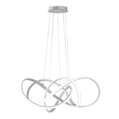 Lampadario Art alluminio, in metallo, diam. 91 cm, LED integrato 138W 11000LM IP20 WOFI