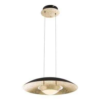 Lampadario Atna oro, in acciaio, diam. 40 cm, LED integrato MAX18 WW IP20 GLOBO