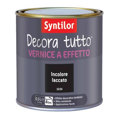 Vernice SYNTILOR Decora tutto 0.5 L incolore laccato