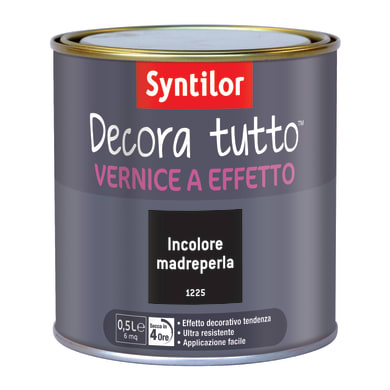Vernice SYNTILOR Decora tutto 0.5 L madreperla madreperla